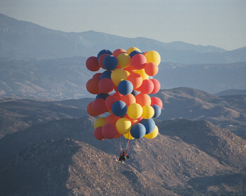 Accessing the Source Vibration - High up in balloons